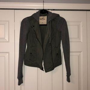 Olive & Gray Hollister Jacket